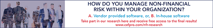 How do you manage Non-Financial Risk within your organisation?