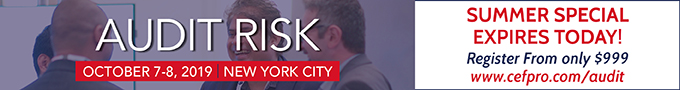 Summer Special expires Today!   Audit Risk (October 7-8   NYC)